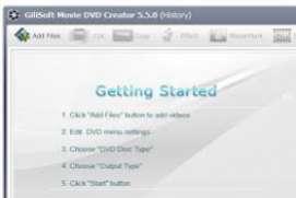 GiliSoft Movie DVD Creator v6